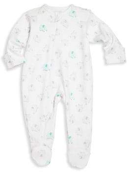 Egg Baby Baby's Elephant Printed Footie