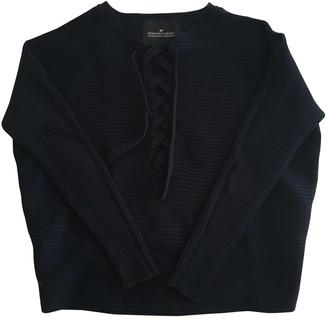 Designers Remix Navy Cotton Knitwear for Women
