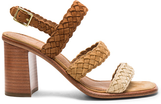 Frye Amy Braid Sandal $328 thestylecure.com