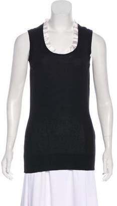 Dolce & Gabbana Cashmere Sleeveless Top w/ Tags