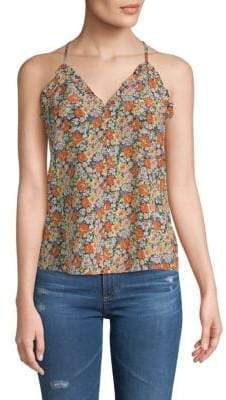 Rebecca Taylor Moonlight Silk Tank Top
