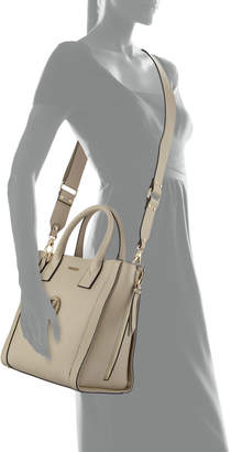 Mario Valentino Valentino By Charmont Leather Tote Bag