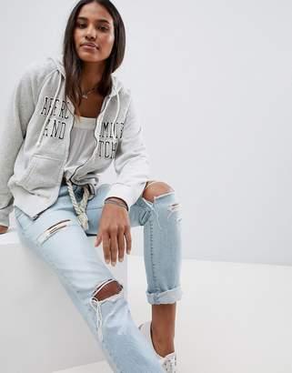 Abercrombie & Fitch zip thru hoodie