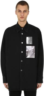 Raf Simons Oversized Shirt W/ Patches