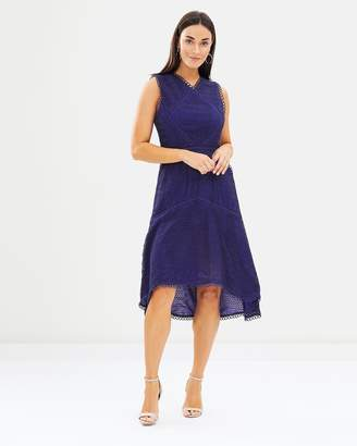 Isa Belle Isabelle High Low Hem Dress