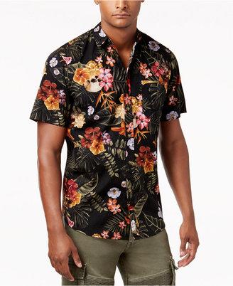 Reason Men's Floral Button-Front Shirt $36 thestylecure.com