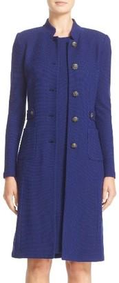 Women's St. John Collection Trellis Knit Topper $1,695 thestylecure.com