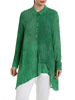 Marc O'Polo Marco Polo L/S Textured Splice Shirt
