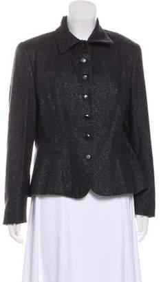 Ralph Lauren Structured Button-Up Blazer