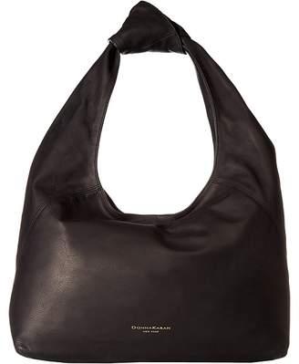 Donna Karan Kali Large Hobo Waxy Hobo Handbags
