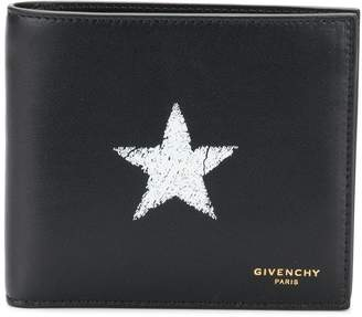 Givenchy Star logo bi-fold wallet