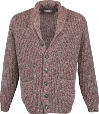 Brunello Cucinelli Shawl Collar Grandfather Cardigan