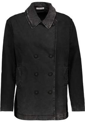 Tomas Maier Double-Breasted Cotton-Blend Jacket