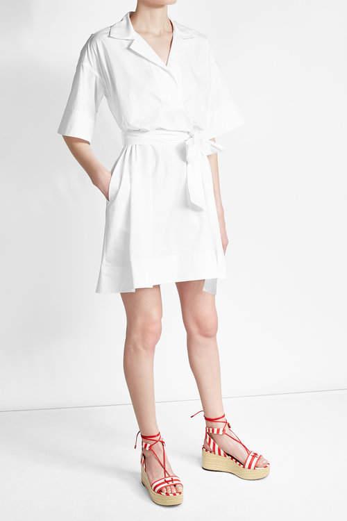Paule KaPaule Ka Cotton Shirt Dress