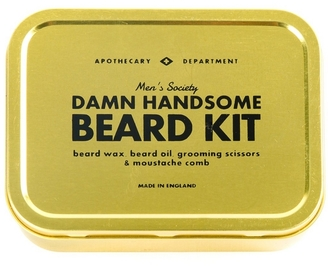 mens society beard grooming kit. Black Bedroom Furniture Sets. Home Design Ideas