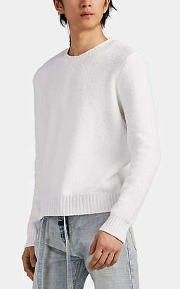 ATM Anthony Thomas Melillo Men's Chenille Sweater - Cream