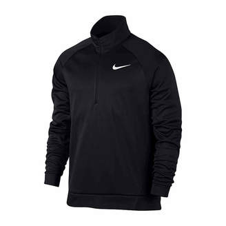 Nike Crew Neck Long Sleeve Quarter-Zip Pullover