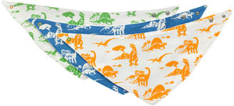 Cath Kidston Mono Dino Baby 3 Pack Teething Bib