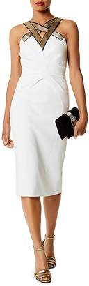 Karen Millen Strappy Sheath Dress