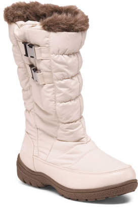 Double Buckle Cold Weather Boots