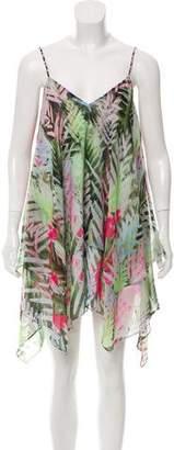 LIKELY Printed Sleeveless Mini Dress