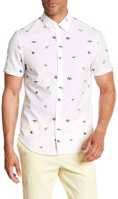 Original Penguin Safari Print Slim Fit Shirt