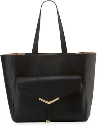 Neiman Marcus Day to Night Shoulder Tote Bag with Clutch