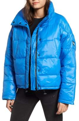 NVLT Funnel Neck Puffer Jacket