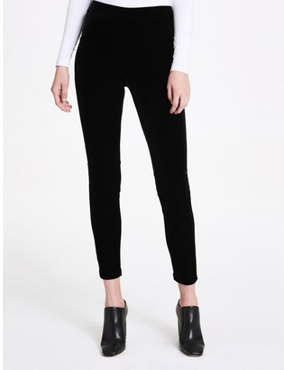 Calvin Klein velvet stretch leggings