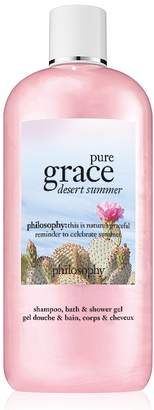 Philosophy pure grace desert summer shower gel