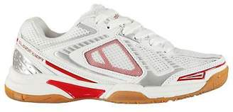 Slazenger Kids Indoor Trainers Juniors Squash Shoes Lace Up Padded Ankle Collar