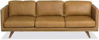 Apt2B Archer Leather Sofa RUSSET