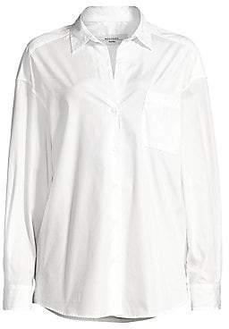 Max Mara Women's Locusta Cotton Poplin Shirt