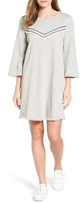 Pleione Bell Sleeve Sweatshirt Dress (Regular & Petite) $24.97 thestylecure.com