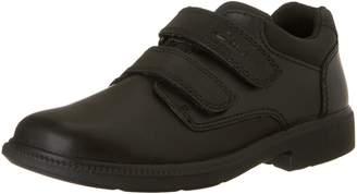 Clarks Deaton Leather School Shoe