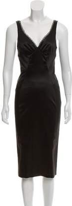 Dolce & Gabbana Midi Sleeveless Dress