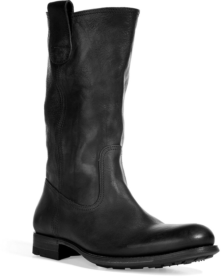 N.d.c. Black Slouchy Half Boots