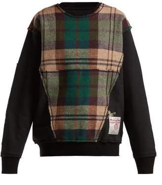 Vivienne Westwood X Harris Tweed Organic Cotton Sweatshirt - Womens - Black