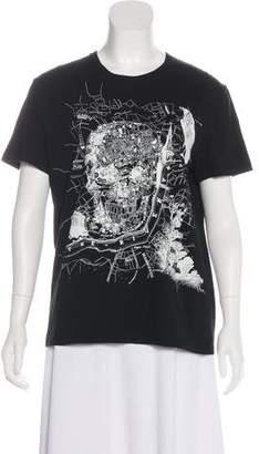 Alexander McQueen 2017 Skull T-Shirt