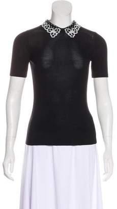 Jason Wu Short Sleeve Knit Top