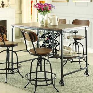 Laurèl Foundry Modern Farmhouse Elberton Rectangular Counter-Height Dining Table