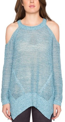 Women's Willow & Clay Cold Shoulder Sweater $79 thestylecure.com