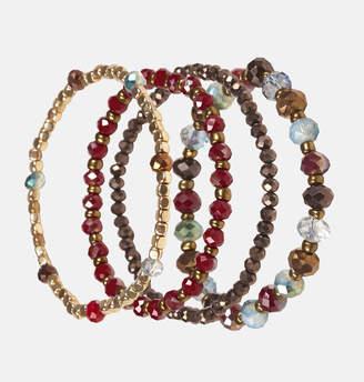 Avenue Multi Bead Stretch Bracelet