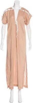Marysia Swim Short Sleeve Maxi Dress