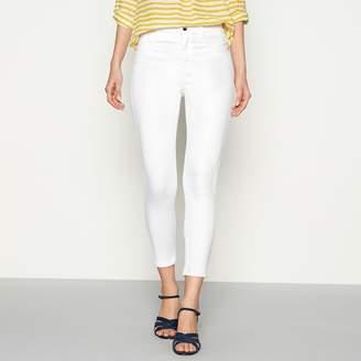 J by Jasper Conran White Slim Fit Ankle Grazer Jeans