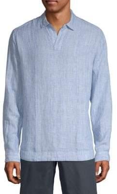 Orlebar Brown Stripe Linen Tunic