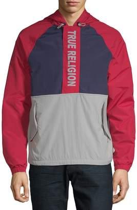 True Religion Men's Colorblock Hooded Jacket