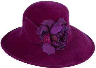 Philip Treacy Large Floral Detail Hat