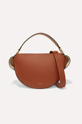 Wandler Yara Leather Shoulder Bag - Tan