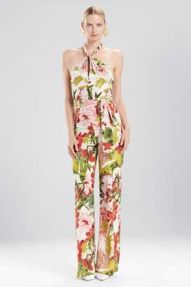 Josie Natori Paradise Floral Jumpsuit